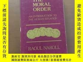 二手書博民逛書店The罕見Moral Order An Introduction