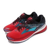 BROOKS 慢跑鞋 Ravenna 8 拉維納系列 紅 藍 DNA動態避震科技 運動鞋 男鞋【ACS】 1102481D666