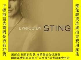 二手書博民逛書店罕見Lyrics抒情詩,英文原版Y449990 Sting 著 Dial Books ISBN:978038