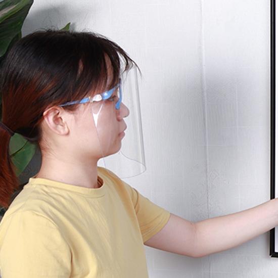 防護面罩 防疫面罩 防霧面罩 防護罩 透明防護罩 防塵罩 替換面板 全臉 面罩 【Z025】慢思行
