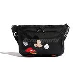 adidas 腰包 Mickey Mouse Waist Bag 黑 白 男女款 側背包 Disney 聯名 運動休閒 【PUMP306】 GE6207