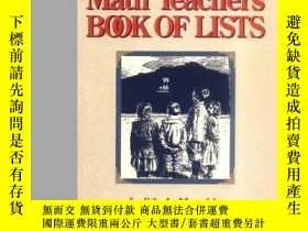 二手書博民逛書店The罕見Math Teacher s Book Of Lists-數學教師的列表冊Y436638 Judit