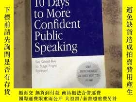二手書博民逛書店10罕見Days to More Confident Publi