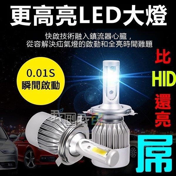 熱銷款LED大燈【半年保固】汽車大燈 機車大燈H1 H3 H7 H8 9006 9005霧燈(單顆)