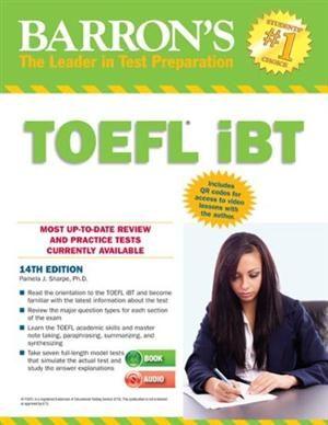 Barron's TOEFL IBT Internet-Based Test 14th Edition with Audio CDs