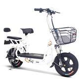 小刀電動車 貝貝電動自行車48V成人男女性電瓶車可拆電池回家充電WD 至簡元素