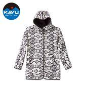 【西雅圖 KAVU】Fleetwood 正反兩穿時尚保暖外套 雪白部落 #2112