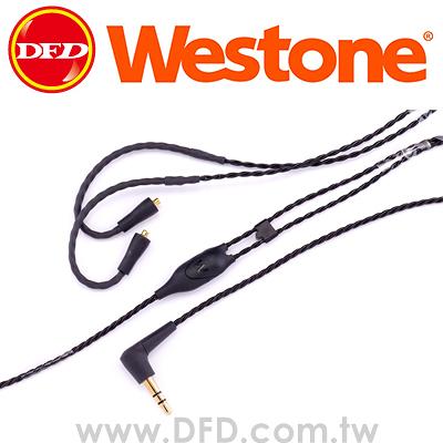 威士頓 WESTONE ES/UM Pro Replacement Cable 52 耳機雙絞線 黑色/透明 公司貨