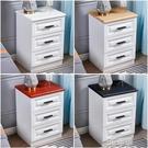 白色床頭櫃收納小型櫃子簡約現代輕奢臥室床邊儲物櫃35cm寬經濟型 3C優購