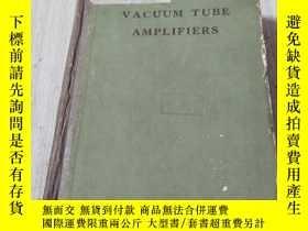 二手書博民逛書店VACUUM罕見TUBE AMPLIFIERS :輻射實驗室叢書