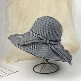 女遮陽帽防曬沙灘帽 可折疊太陽帽