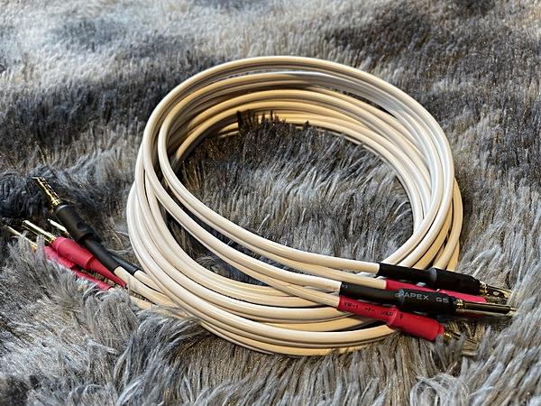 『門市有現貨』純手工製發燒级喇叭線 - 英國 QED Classic 79 strand 4米+4米