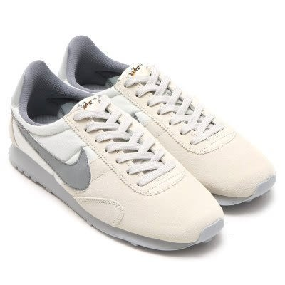 NIKE PRE MONTREAL RACER VINTAGE 卡其 灰勾 休閒 女鞋 松本奈惠 555258-100☆SP☆