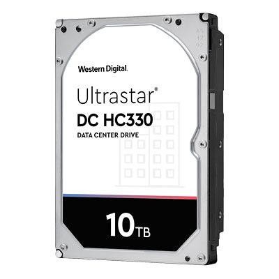 Western Digital WD Ultrastar DC HC330 3.5吋 10TB SATA3 企業專用硬碟機(WUS721010ALE6L4)
