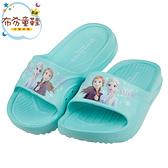 《布布童鞋》Disney迪士尼冰雪奇緣藍綠色兒童輕量拖鞋(16~21公分) [ B0H706B ]