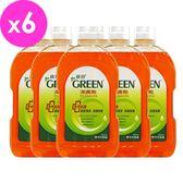 綠的GREEN 潔膚劑1000mlx6入(箱購)