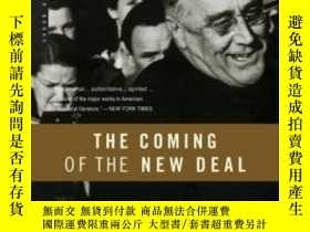 二手書博民逛書店The罕見Coming Of The New Deal, 1933-1935Y364682 Arthur M.