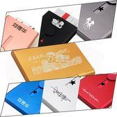 手推式輕便名片盒 男女士自動名片夾 磨沙卡片盒    卡菲婭