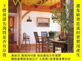 二手書博民逛書店Designing罕見A Home with Wood 用木材設