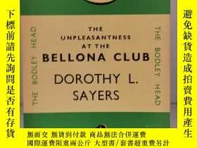 二手書博民逛書店多蘿西·塞耶斯罕見The Unpleasantness at the Bellona Club by Dorith