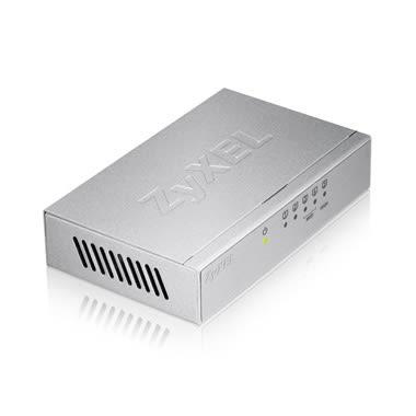 合勤 ZyXEL GS-105B V3 5埠 Giga乙太網路交換器 - 鐵殼版