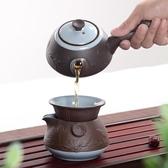 功夫茶具日式泡茶壺茶杯套裝陶瓷【步行者戶外生活館】