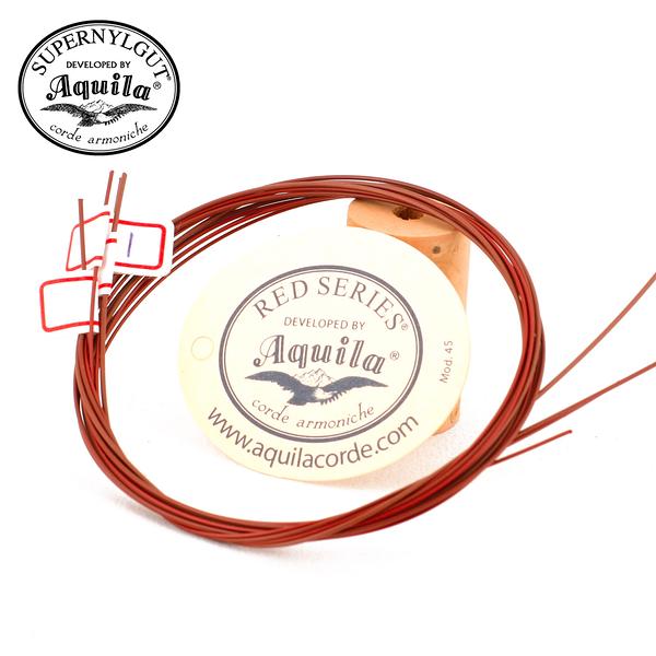 小叮噹的店- 烏克麗麗弦 Red Series 義大利 AQUILA 原廠吊牌(AQ-03)