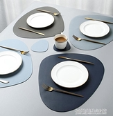 北歐風皮革餐桌墊家用西餐墊防水防油隔熱墊創意碗墊子杯墊餐盤墊 【優樂美】