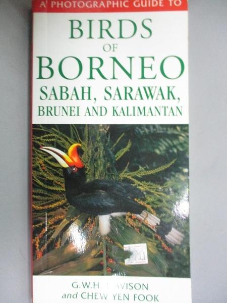 【書寶二手書T5/攝影_NOQ】A Photographic Guide to Birds of Borneo, Sab