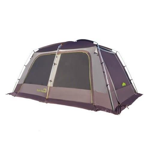 [送頂布+底布]Snowline 韓國 傅利斯 4人套房帳篷 SN75ULT008 鋁合金營柱 家庭帳 一房一廳 [易遨遊]