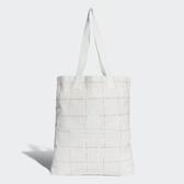 adidas 拖特包 Originals Shopper Bag 白 紅 男女款 包包 條紋 【ACS】 CV8462