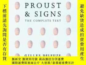二手書博民逛書店Proust罕見And Signs-普魯斯特和符號Y436638 Gilles Deleuze Univ Of