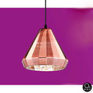 吊燈★時尚工業風 氣質玫瑰金玻璃吊燈 單燈✦燈具燈飾專業首選✦歐曼尼✦