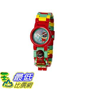 [106 美國直購] LEGO 8020868 羅賓 手錶 Heroes Robin Batman Movie 蝙蝠俠電影 Minifigure Link Watches