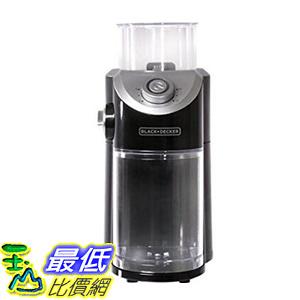 [106 美國直購] BLACK+DECKER CBM310BD Burr Mill Coffee Grinder, Black 咖啡磨豆器
