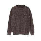圓領針織衫-純色雪尼爾加厚保暖男毛衣2色73wl20【時尚巴黎】