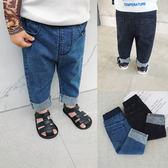 嬰兒男小童牛仔褲夏季薄款1-3歲寶寶