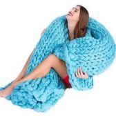 【Love Shop】美國亞馬遜流款粗毛線毯/手工編織毯子/懶人毯/懶人彼肩