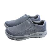 SKECHERS ArchFit 運動鞋 懶人鞋 男鞋 灰色 204495CHAR no397