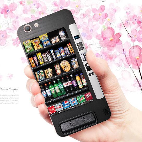 [機殼喵喵] OPPO A59 F1s A1601 手機殼 軟殼 自動販賣機