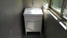 【麗室衛浴】陶瓷洗衣槽+落地發泡板防水浴櫃 P-301+P-351-1
