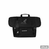 KANGOL 包 BAG 英國袋鼠 黑色網眼 斜背包 郵差包 - 6055300820