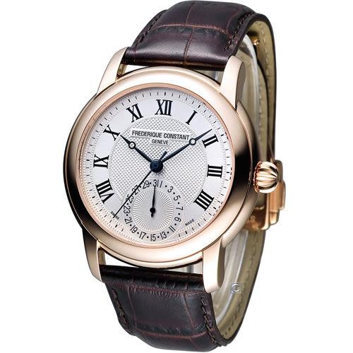 Frédérique Constant 經典羅馬紳士機械腕錶 FC-710MC4H4