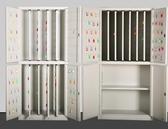 鑰匙箱 房產120位200位500位800位1000位鑰匙櫃單位物業壁掛式鑰匙管理箱 DF
