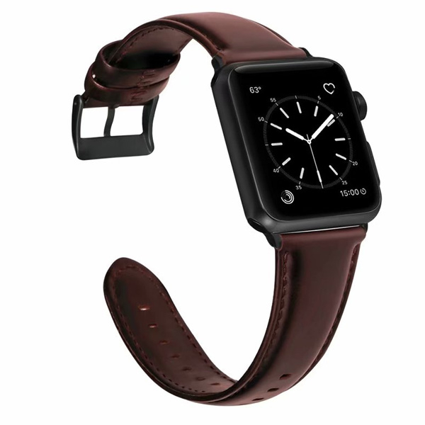 蘋果 Apple Watch 1234代 油蠟皮錶帶 蘋果錶帶 Apple Watch錶帶