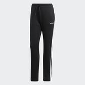Adidas W E 3s Pant Fl [DP2376] 女 長褲 運動 休閒 訓練 棉質 刷毛 舒適 愛迪達 黑