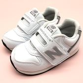 《7+1童鞋》小童 New Balance  IV996GWH  魔鬼氈 學步鞋 休閒  運動鞋 9424 白色