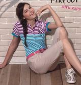 Kappa 女生平織七分褲 (寬鬆版) FB42-7900-6