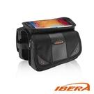 IBERA 上管馬鞍袋 IB-TB7 / 城市綠洲 (台灣製造、輕量化、自行車、腳踏車、多口袋)