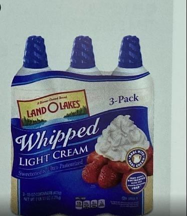 需低溫宅配 C696469 LAND O LAKES 罐裝鮮奶油